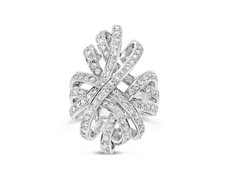 Ever Knot Diamond ring – Large