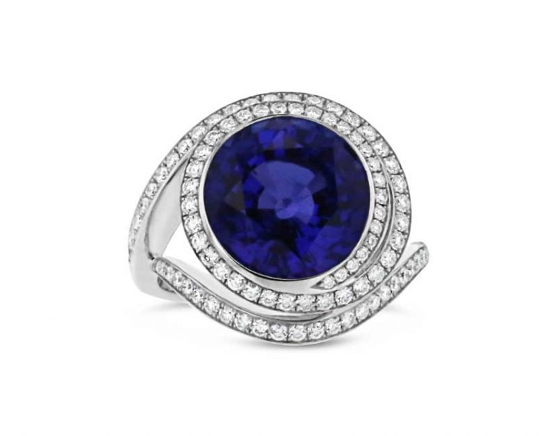Bloom Tanzanite ring