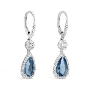 Katherine Aquamarine drop earrings